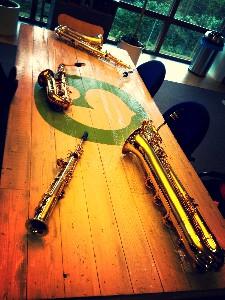 Berlage Saxophone Quartet radio 4